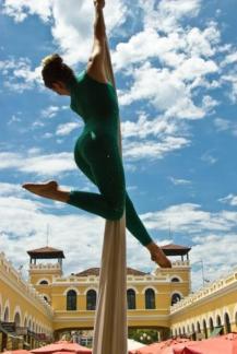 Silks - Tecido na Maratona Cultural de Florianopolis 2011
